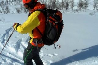 Skiing in westcoast of Norway