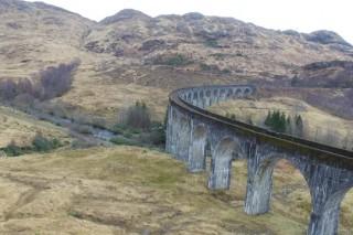 The Glenfinnan Viaduct Scotland