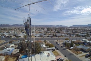 Tower Work at 200 Feet