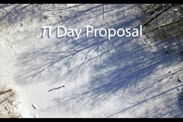 Tyler & Kate – Pi Day Proposal