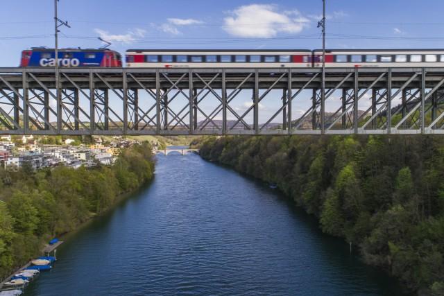 Train-Viaduct, Eglisau, Switzerland