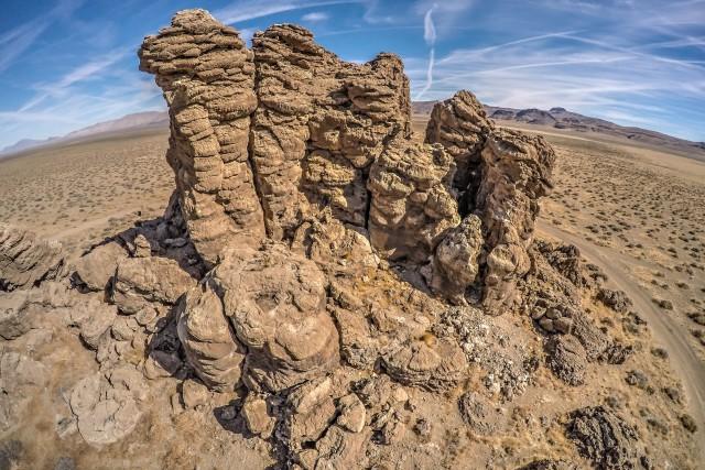 Black Rock Desert Tufa Towers