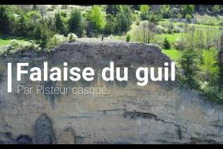 """4K, Mavic pro, guillestre, hautes alpes, france , """"Les falaises du guil"""""""