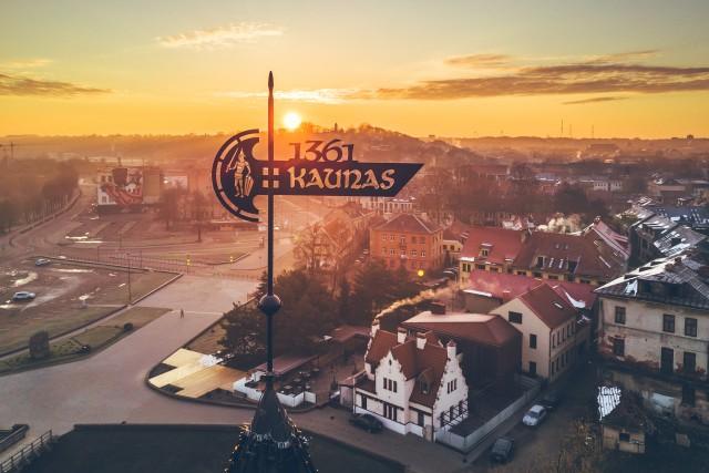 Weathervane   Kaunas Castle