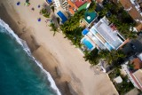 Aerial Photography – Luxurious villa in downtown Puerto Vallarta