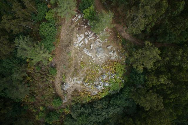 Pena Furada (Coirós, Galicia)