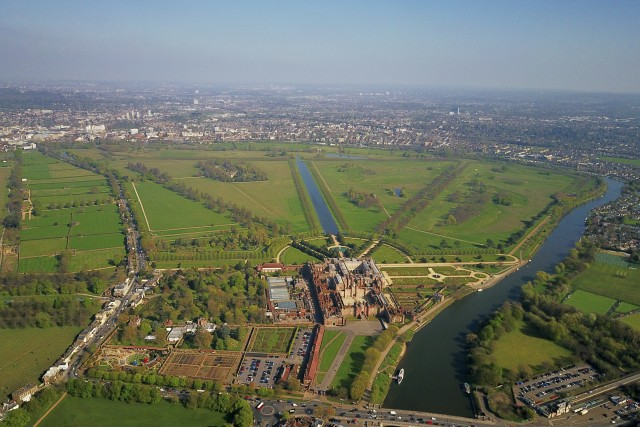 Views of Hampton Court Palace