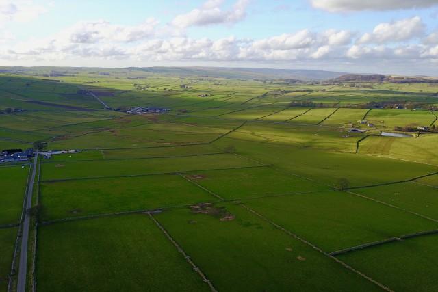 British countryside and farmland