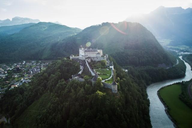 Festung Hohenwerfen!