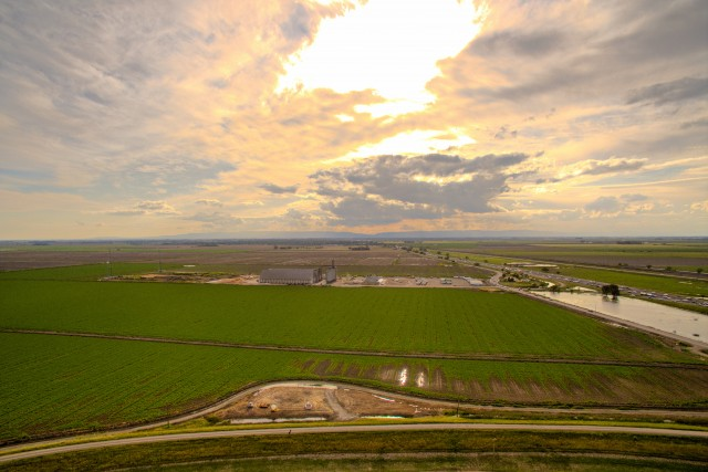 Farmland goldenhour