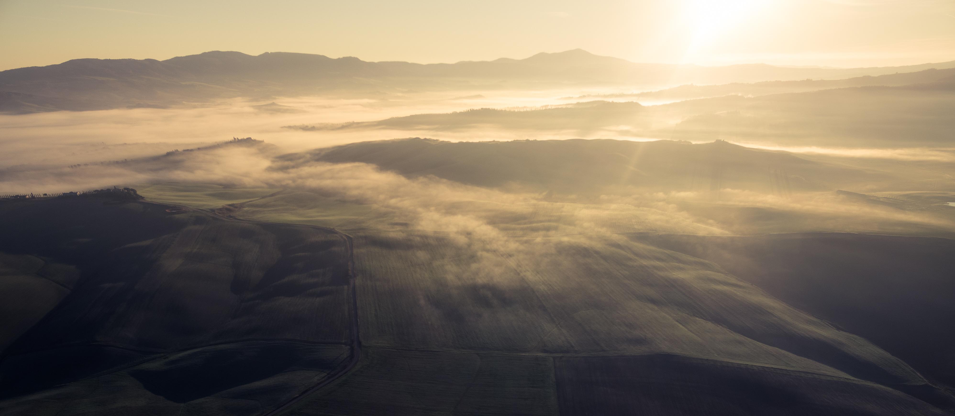Val d'Orcia Sunrise