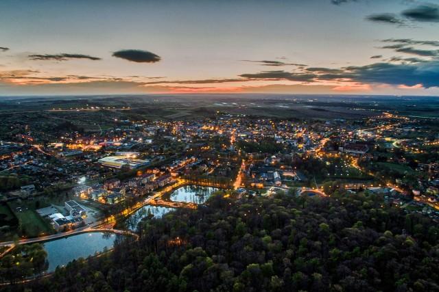 Good night Trzebnica city