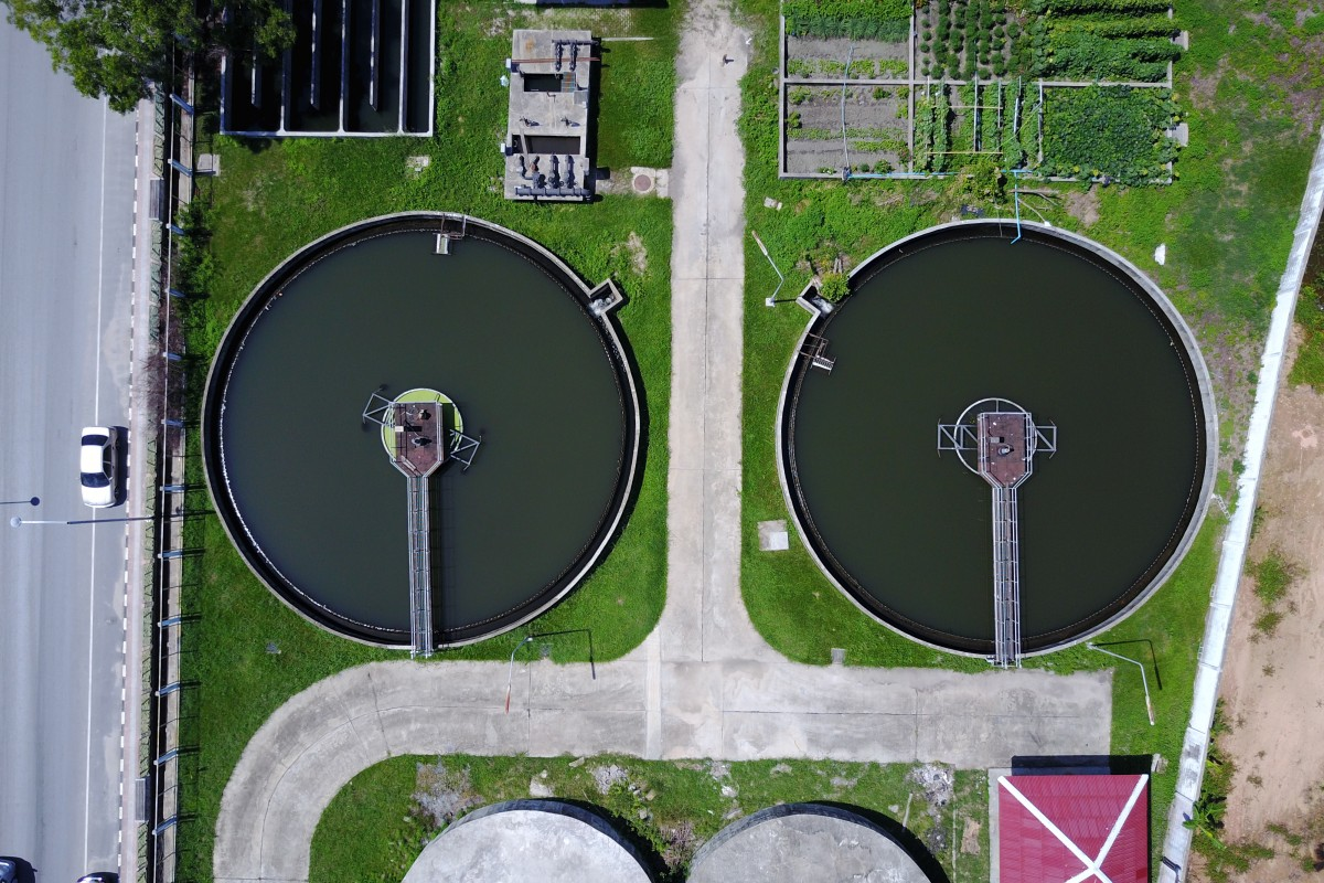 Water treatment plant, Samui, Thailand