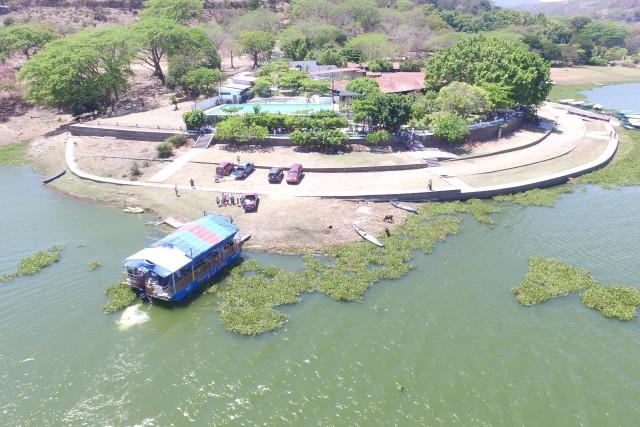 Puerto San Juan, Suchitoto, El Salvador.