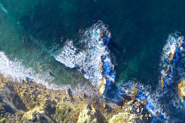 Newport Beach from above