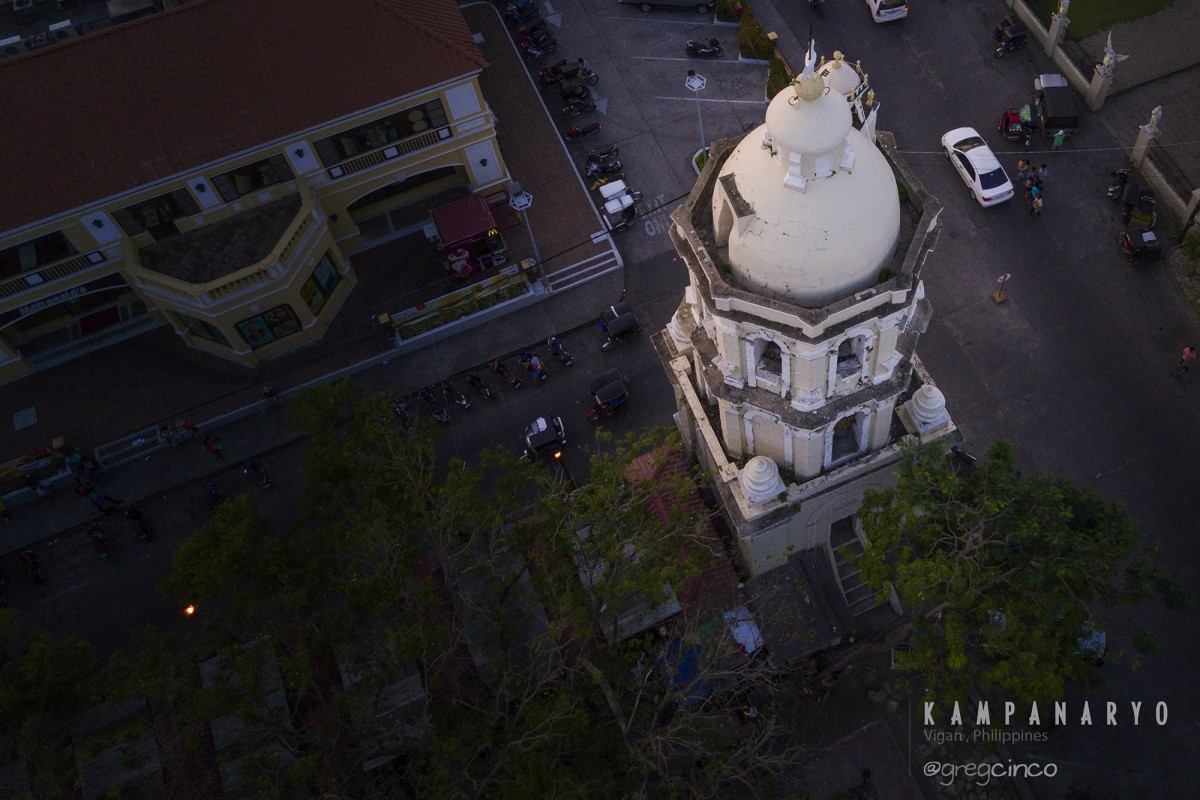 Kampanaryo – Bell Tower of St. Paul Cathedral