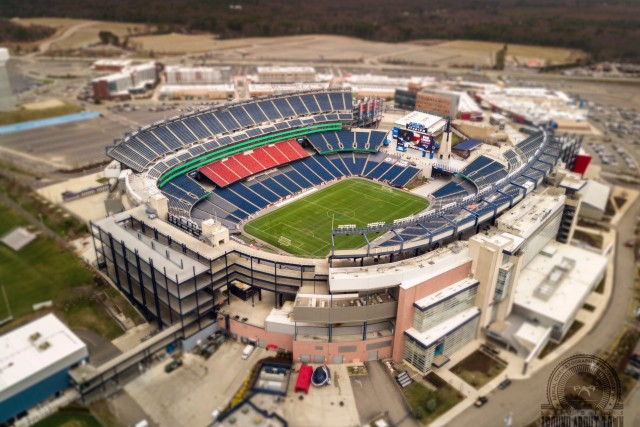 Gillette Stadium and The 2017 Boston Marathon