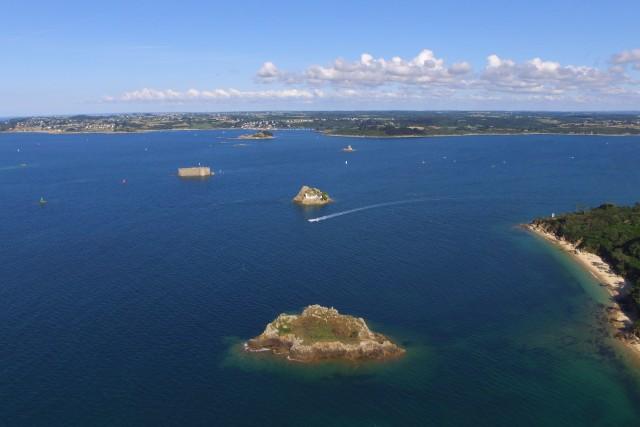 Baie de Morlaix, Bretagne, France