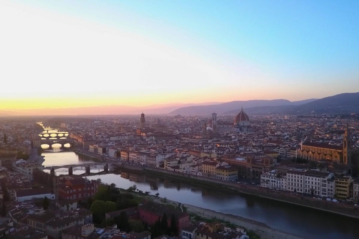 Florence (Firenze) Sunset