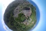 Carrière de graviers à Mayotte