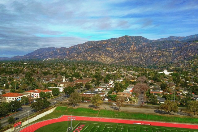 Victory Park Pasadena,Califorina HDR