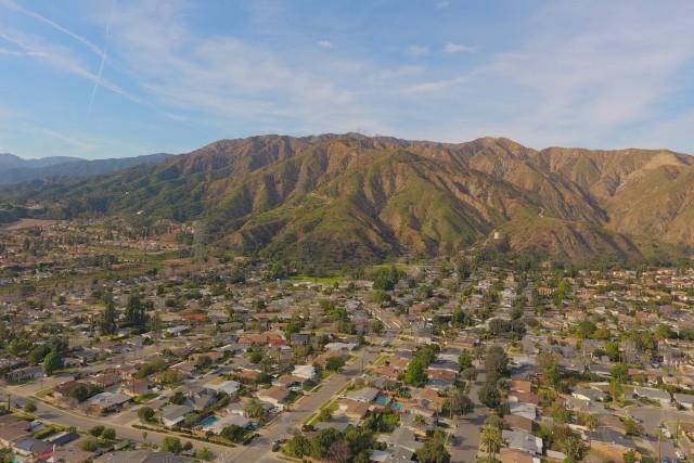 San Gabriel Mountians,Azusa,Ca HDR