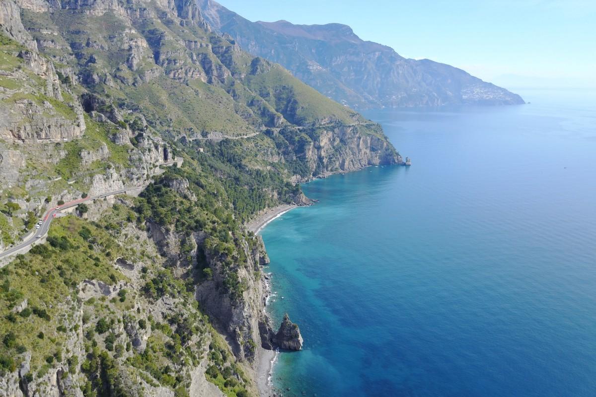 Positano Italian coastline