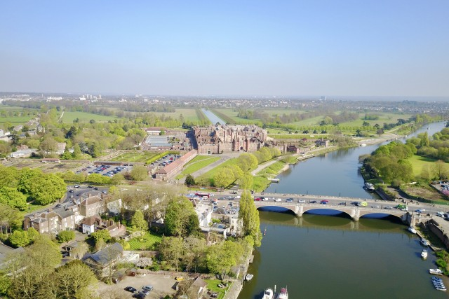Views of Hampton Court Palace