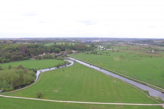 Hartham Common from 400ft (ish)