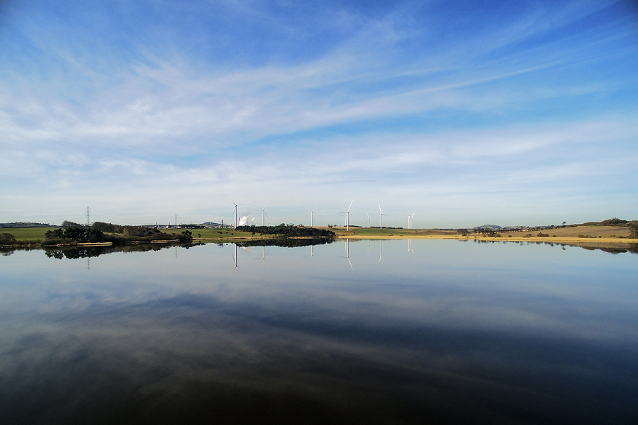 Loch Gelly Reflections