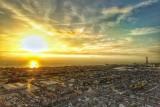 Blackpool at sunset