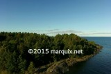 Aerial View of Lake Vaner, Sweden