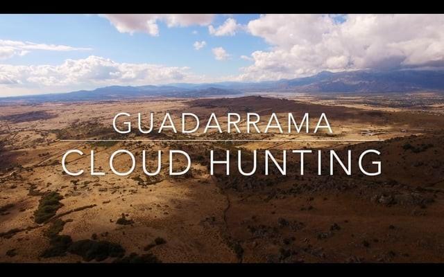 Cloud Hunting by drone/ A la caza de nubes por dron Guadarrama