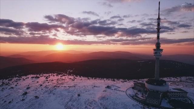 Czech mountains Jeseníky – Praděd 1491 m.n.m.