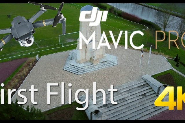 DJI Mavic Pro – First flight [4K]