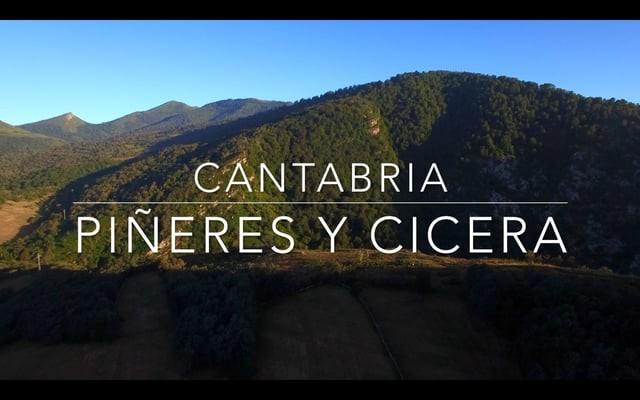 Drone Flight over Piñeres & Cicera (Peñarrubia, Cantabria) Spain/Vuelo drone sobre Piñeres y Cicera