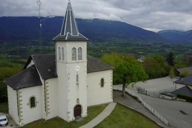 Eglise de Saint-Sylvestre (Haute-Savoie, France)
