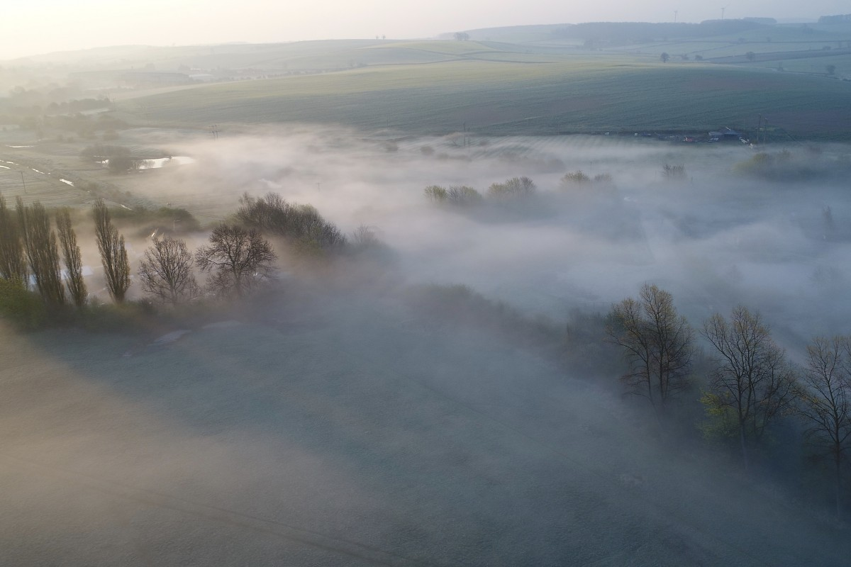 Low lying mist