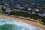 Brighton beach huts, Victoria, Australia