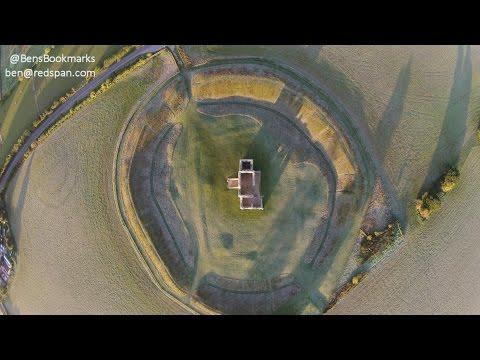 Knowlton Church and Ceremonial Earthworks Near Wimborne in Dorset