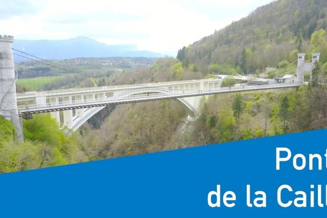 Les ponts de la Caille (Cruseilles, Haute-Savoie)