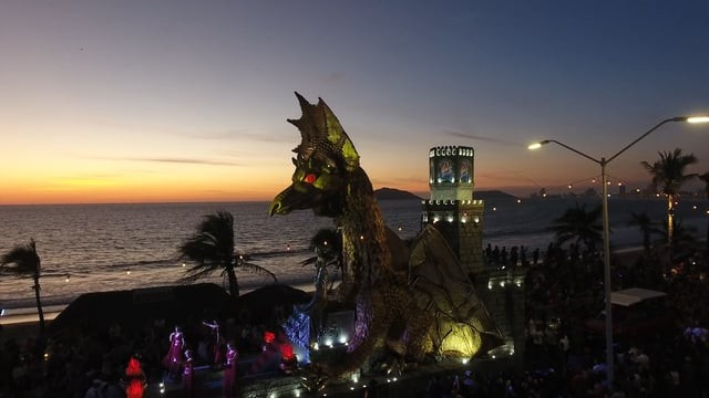 Mazatlan Carnival 2017 – Mazatlan Mexico Drones