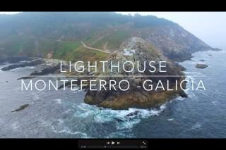 Monteferro Lighthouse Drone (Galicia, Spain) / Faro de Monteferro Dron (España) / DJI Phantom 3