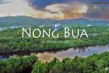 nong bua sunset on river kwai before storm yai thailand