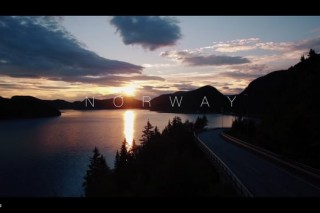 Norway from sky