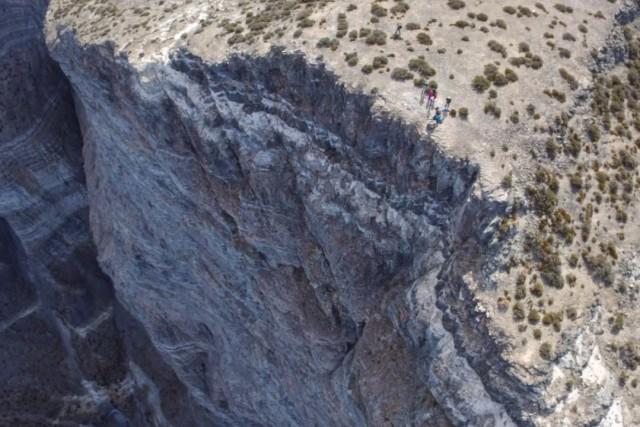 Notch Peak in the West Desert of Utah, USA
