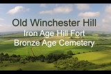 Old Winchester Hill Iron Age Hill Fort Hampshire – DJI Phantom Drone Aerial Video, South Downs Way