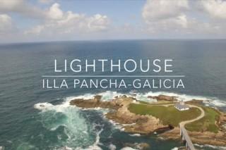 Pancha Island Lighthouse Drone (Galicia, Spain) / Faro de Isla Pancha Dron (España) / DJI Phantom 3