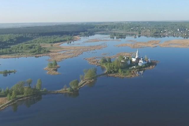Russia, Nizhny Novgorod oblast, a village Vorsma