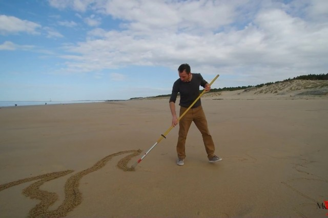 Sand Art by JBen from France
